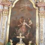 Das Altarbild mit der hl. Agatha