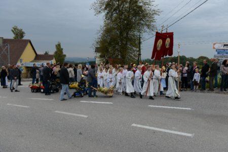 Erntedankfest der Pfarre St. Agatha