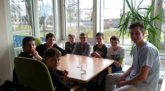 Firmlinge - Besuch im Altenheim Waizenkirchen