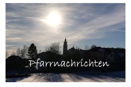 Pfarrnachrichten November 2019