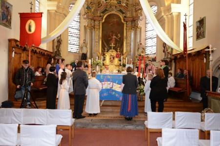 Erstkommunion am 10.5.2015