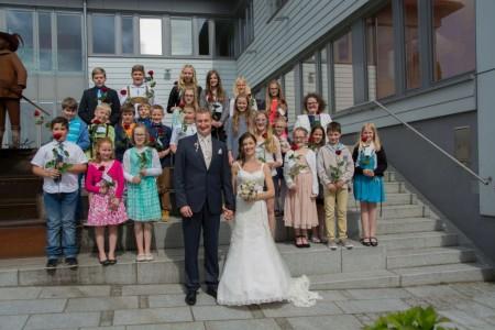 Hochzeit von Anja und Franz, am 30.05.2015